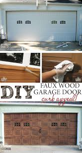 diy faux wood garage door tutorial by prodigal pieces prodigalpieces com
