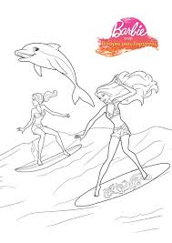 Small Picture Download Coloring Pages Barbie Mermaid Coloring Pages Barbie