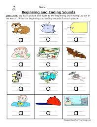 Beginning Sounds Kindergarten Worksheets Letter F Sound Worksheet ...