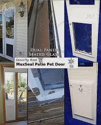 petsafe freedom aluminum patio panel sliding glass pet door inspirational 51 best temporary pet doors patio