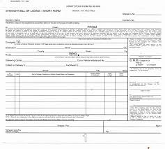 bill of lading printable form hazmat bill of lading pdf fresh bill lading form free free printable
