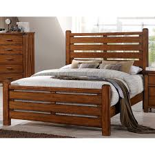 Barley Brown Rustic Contemporary King Size Bed - Logan | RC Willey ...