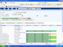 Timesheet Time Tracker View Timesheet Compliance Reports To Enforce Time Reporting