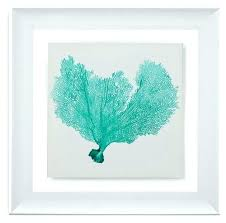 sea glass art sea glass art framed under glass art sea fan vi beach style prints