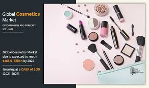 cosmetics market size share industry