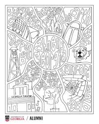 One realization i had with our 12th graders is that canva's platform and layout inspires and encourages entrepreneurship! Outside The Lines A Uga Coloring Page For Quarantine