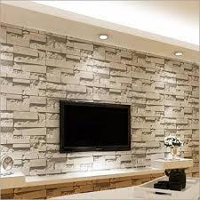 10M 3D Stone Brick Wall Paper ...