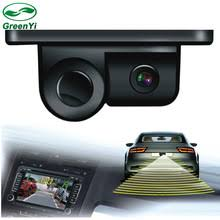 sound system accessories. greenyi 2 in 1 lcd display indicator sound alarm car reverse parking sensor camera with ccd system accessories