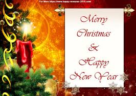 Wishing You A Merry Christmas And Happy New Year Quotes