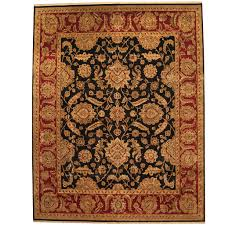 indo persian hand knotted khorasan wool rug 11 9 x 15 herat oriental rugs