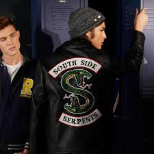 riverdale southside serpent leather jacket replica rare men s fashion clothes on carou