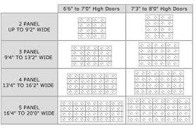 2 car garage door dimensionsStandard Garage Door Width Easy On Garage Door Springs With Garage