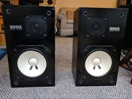 yamaha ns10. yamaha ns-10m pair of studio monitors ns10 e