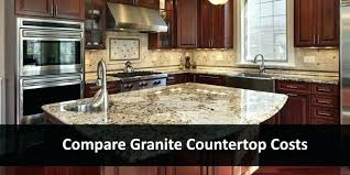 light granite countertops costs in kitchen pros and cons dark with cabinets backsplash white