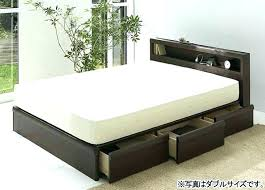 white queen size bed frame. White Queen Bed Frame With Storage Drawers Beds Underneath . Size