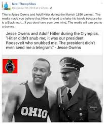 Jesse Owens Quotes Custom FACT CHECK Jesse Owens And Hitler Shook Hands At The 48 Summer