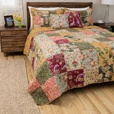 Greenland Home Fashions Antique Chic Full/ Queen-size 3-piece ... & Greenland Home Fashions Antique Chic King-size 3-Piece Quilt Set Adamdwight.com