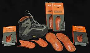 Simms Right Angle Wading Boot Insert And Right Angle Footbed