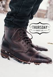 Thursday Boots Size Chart Captain Brown In 2019 Fashion Men Mens Fashion __cat__