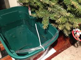 Large Christmas Tree Stand Leaving Your Christmas Tree For A Couple Days Set Up A Reservoir