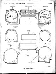 Yj instrument cluster manual on 2002 jeep wrangler fuse panel diagram for section 8e description
