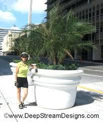large cement planters. Large Concrete Planter Amazing Cement Planters Diy F7586487 . N