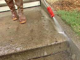 to patch and resurface concrete steps