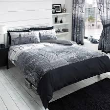 new york city skyline duvet cover sets