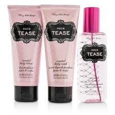 <b>Victoria's Secret Sexy Little</b> Things Noir Tease Coffret: Body Mist ...