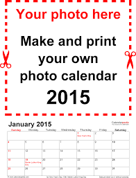 calendars monthly 2015 photo calendar 2015 free printable word templates