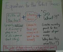 thesis statement formula for literary analysis reading and thesis statement formula for literary analysis