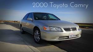 2000 Toyota Camry XLE 3.0 L V6 Road Test & Review - YouTube
