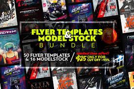 remix photos graphics fonts themes templates creative market flyer templates model stock bundle