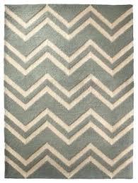 chevron blue striped area rug light and white grey handmade woolen carpet navy