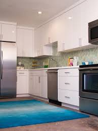 blue kitchen rugs washable