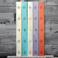 Wooden Growth Chart For Girls Kids Wall Hanging Wooden Ruler Growth Chart Height Chart For
