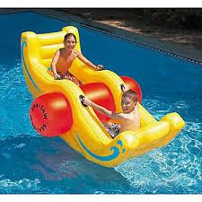pool floats for kids. Delighful Kids Image Is Loading SeasawRockerInflatablePoolToySwimlineKidsFloat Throughout Pool Floats For Kids E