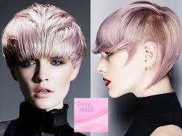 09 Colors The Short Hair Fall 2015 Winter 2016 Pink Hair Hair
