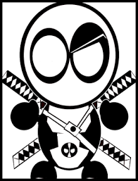 Small Picture Chibi Deadpool lines by Scarlet Speed on DeviantArt