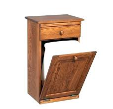 wooden trash can cabinet kitchen garbage can cabinet tilt out garbage can wooden trash can cabinet