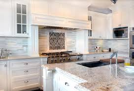 white shaker kitchen cabinets with granite countertops. Backsplash Ideas For Granite Countertops Kitchen Transitional With Accent Tile White Shaker Cabinets S