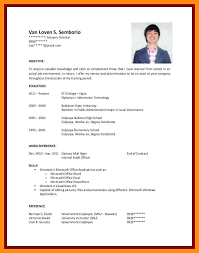 Sample Resumes For College Students With No Experience 40 Very Best Attractive Resume Samples