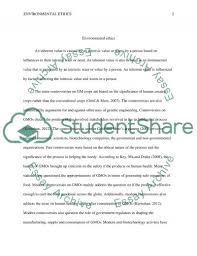environmental ethics essay example topics and well written  environmental ethics essay example