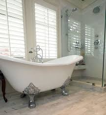 clawfoot tub bathroom ideas. Exellent Clawfoot Bathroom With Arabella Cast Iron Double Slipper Clawfoot Tub Throughout Clawfoot Tub Ideas O