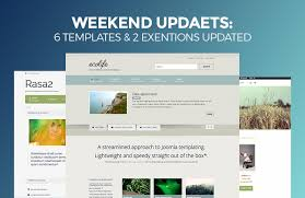 Website Builder Templates Custom Weekend Updates 48 Joomla Templates And 48 Extensions Updated