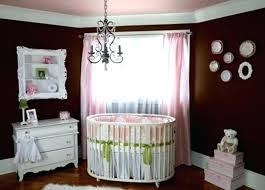 chandelier for baby girls room nursery ideas on a budget brown colored wall elegant chandelier baby chandelier for baby girls