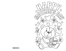 Which in result give your children a powerful sense. 4 Free Printable Mother S Day Ecards To Color