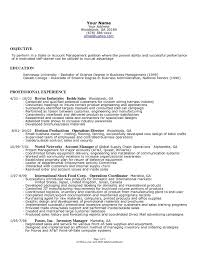 Small Business Resume Template
