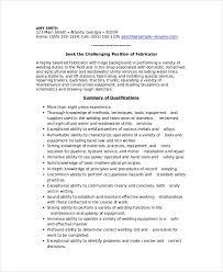 Welder Resume Custom Welder Resume Template 60 Free Word PDF Documents Download Free