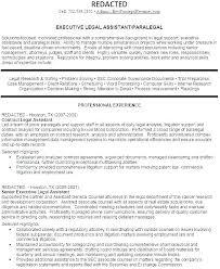Sample Of Paralegal Resume Sample Paralegal Resume Immigration